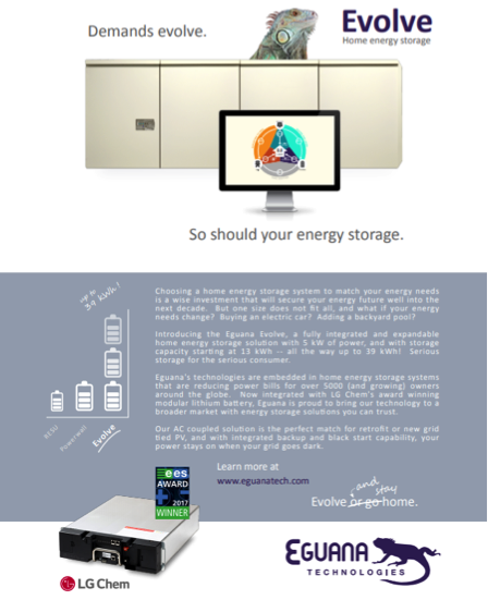 Advertisement running is the winter edition of Solar & Storage Magazine